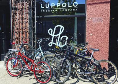 Luppolo Brewing exterior bikes