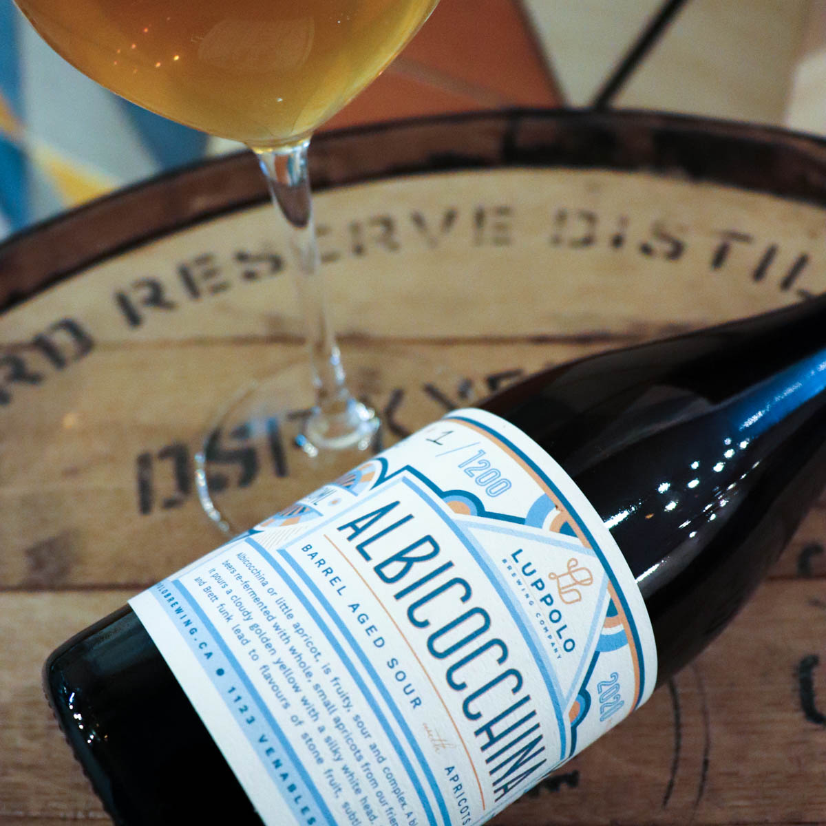 Albicocchina Barrel Aged Sour with Apricots