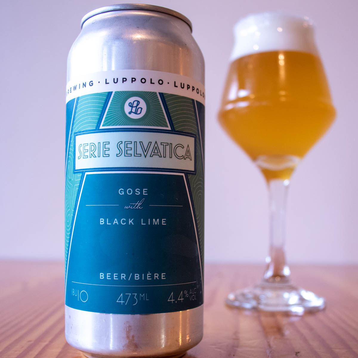 Gose with Black Lime