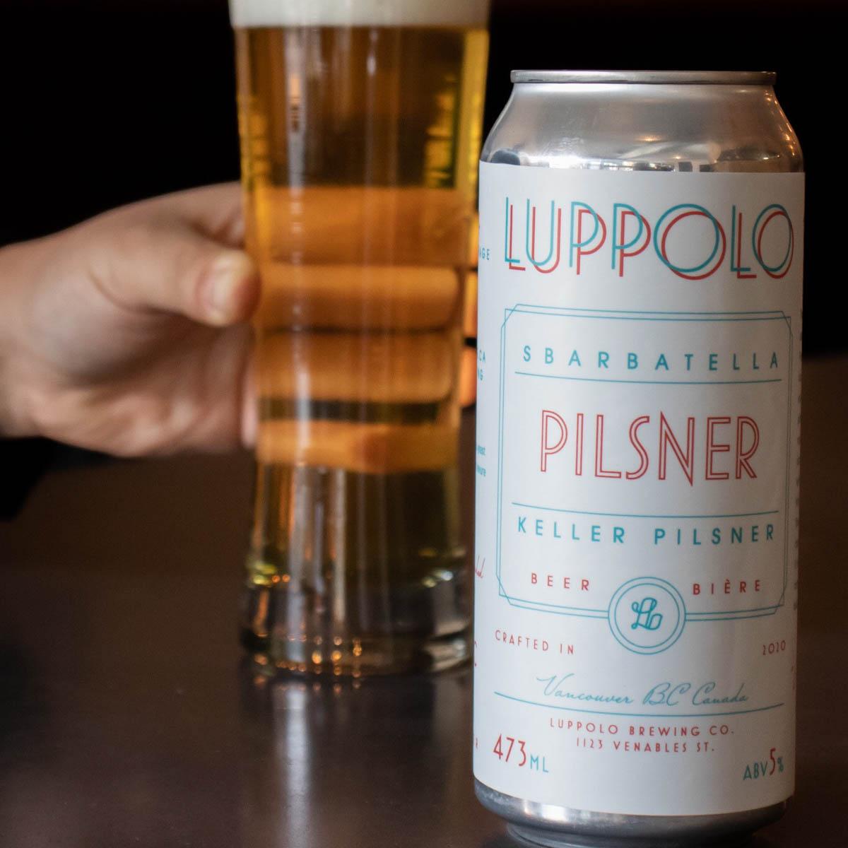 Sbarbatella-Keller-Pilsner-Luppolo-Brewing-Company-Vancouver