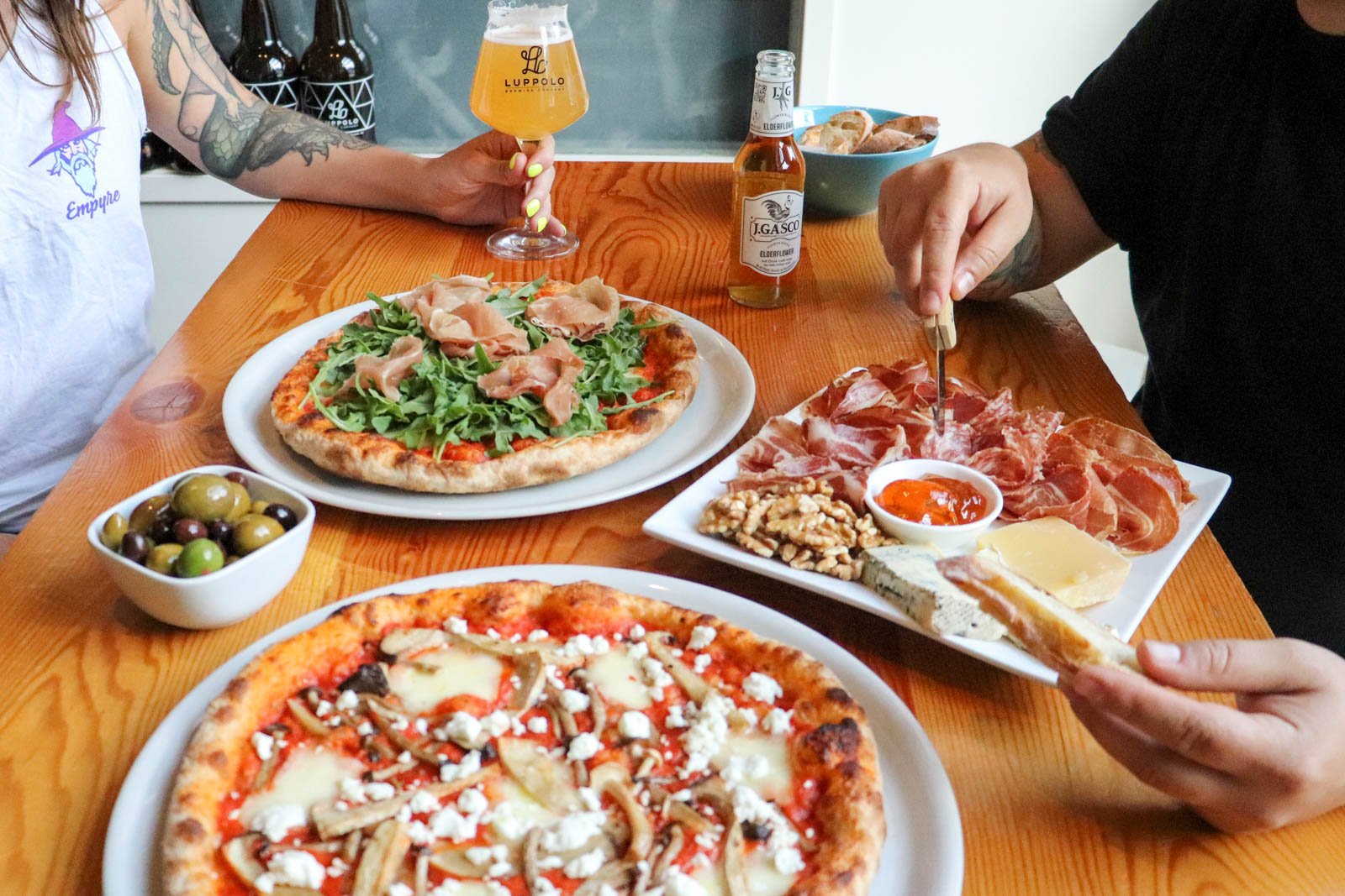 Pizza-and-Aperitivi-Luppolo-Brewing-Vancouver