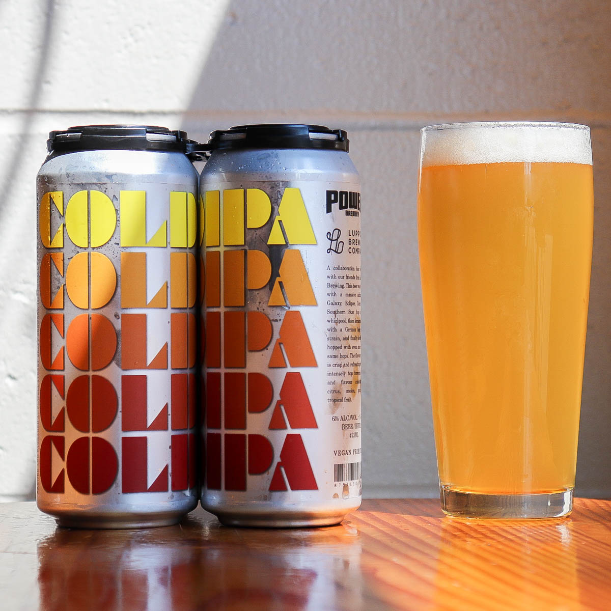 Cold IPA Collab with Powell Brewery